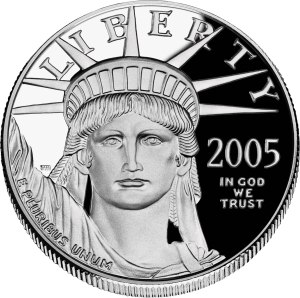U.S. Platinum Eagle coin