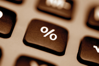 percent sign button